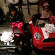 Nick Cannon, le mari de Mariah Carey a posté une série de clichés de leurs jumeaux Monroe et Moroccan, à l'occasion de leur anniversaire, le 30 avril 2014.