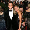 Tom Brady et sa femme Gisele Bündchen - Soirée du Met Ball / Costume Institute Gala 2014