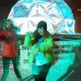 Emma Shaka (The Voice 3) sur scène, le 1er mai 2014 à Val Thorens.