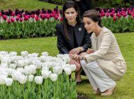Princesse Marie de Danemark : Radieuse, elle baptise la tulipe à son nom