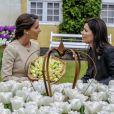 La princesse Marie de Danemark a procédé au baptême le 7 mai 2014 d'une fleur à son nom dans le parc du château de Gavno : la tulipe Princesse Marie, une variété simple tardive de 45 cm, blanche à liseré cerise sur le bord.