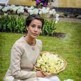 La princesse Marie de Danemark a pu repartir avec un bouquet de tulipes à son nom ! L'épouse du prince Joachim a baptisé le 7 mai 2014 une fleur à son nom dans le parc du château de Gavno : la tulipe Princesse Marie, une variété simple tardive de 45 cm, blanche à liseré cerise sur le bord.