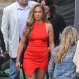 """Jennifer Lopez arrive sur le plateau de l'émission """"American Idol"""" à Hollywood, le 8 mai 2014."""