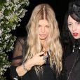 Fergie et Bea Akerlund lors de la soirée Chrome Hearts Collection Launch party à West Hollywood, Los Angeles, le 8 mai 2014.