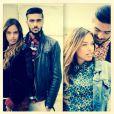 Julien en couple avec Vanessa Lawrens. Le duo pose régulièrement ensemble sur les réseaux sociaux.