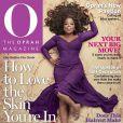 Oprah Winfrey en couverture de son magazine, édition de mai 2014.