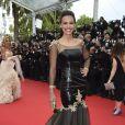"""Marine Lorphelin lors de la montée des marches du film """"Grace de Monaco"""" pour l'ouverture du 67 ème Festival du film de Cannes, le 14 mai 2014"""