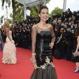 """Marine Lorphelin somptueuse lors de la montée des marches du film """"Grace de Monaco"""" pour l'ouverture du 67 ème Festival du film de Cannes, le 14 mai 2014"""