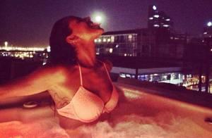 Shy'm : Torride en bikini dans un jacuzzi, elle dévoile son perfect body