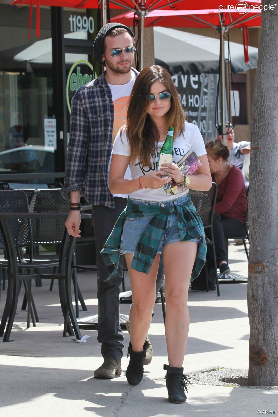 Lucy hale and joel crouse pictures