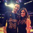 Photo de Joel Crouse et Lucy Hale, postée le 14 avril 2014.