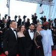 Peter Becker, Géraldine Pailhas, Pablo Trapero, Maria Bonnevie et Moussa Touré (Jury Un Certain Regard) lors du Festival de Cannes le 15 mai 2014