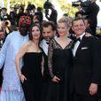 Moussa Touré, Géraldine Pailhas, Pablo Trapero, Maria Bonnevie et Peter Becker (Jury Un Certain Regard) lors du Festival de Cannes le 15 mai 2014