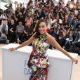 """Rosario Dawson - Photocall du film """"Captives"""" au 67e Festival du Film de Cannes, le 16 mai 2014."""