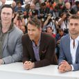 "Kevin Durand, Ryan Reynolds, Scott Speedman - Photocall du film ""Captives"" au 67e Festival du Film de Cannes, le 16 mai 2014."