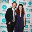 Will Chase et Debra Messing à New York, le 9 mai 2013.