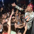 Le rappeur américain Tyga au VIP Room de Cannes, le vendredi 16 mai 2014.