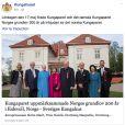 Les couples royal de Suède et de Danemark se sont joints à la famille royale de Norvège pour le bicentenaire de la Constitution à l'occasion de la Fête nationale le 17 mai 2014