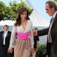 "Tommy Lee Jones et Hilary Swank - Photocall du film ""The Homesman"" lors du 67e festival international du film de Cannes, le 18 mai 2014."