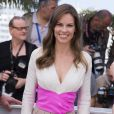 "Hilary Swank - Photocall du film ""The Homesman"" lors du 67e festival international du film de Cannes, le 18 mai 2014."