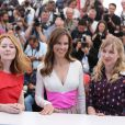 "Miranda Otto, Hilary Swank, Sonja Richter - Photocall du film ""The Homesman"" lors du 67e festival international du film de Cannes, le 18 mai 2014."