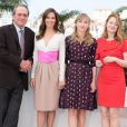 "Tommy Lee Jones, Hilary Swank, Sonja Richter et Miranda Otto - Photocall du film ""The Homesman"" lors du 67ème festival international du film de Cannes, le 18 mai 2014.  Call for ""The Homesman"" at the 67th Cannes Film Festival in Cannes on May 18th 2014.18/05/2014 - Cannes"