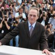 "Tommy Lee Jones - Photocall du film ""The Homesman"" lors du 67e festival international du film de Cannes, le 18 mai 2014."