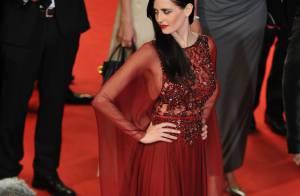 Eva Green fascinante et gothique : Une entrée théâtrale à Cannes