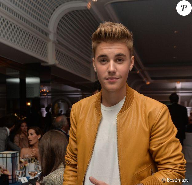 Justin Bieber - Soirée Vanity Fair Armani à l'Eden Roc au cap d'Antibes le 17 mai 2014