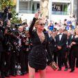 """Sharon Stone - Montée des marches du film """"The Search"""" lors du 67 ème Festival du film de Cannes – Cannes le 21 mai 2014.  Red carpet for the movie """"The Search"""" during the 67 th Cannes Film festival - Cannes 21/05/201421/05/2014 - Cannes"""
