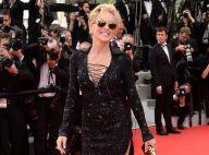 Sharon Stone dévoile ses jambes sublimes pour faire le show à Cannes