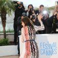 """Charlotte Gainsbourg - Photocall du film """"L'Incomprise"""" lors du 67e Festival International du Film de Cannes, le 22 mai 2014."""
