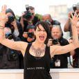 """Asia Argento - Photocall du film """"L'Incomprise"""" lors du 67e Festival International du Film de Cannes, le 22 mai 2014."""