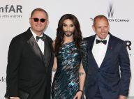 Conchita Wurst à l'amfAR : Après son sacre, la diva barbue triomphale à Cannes