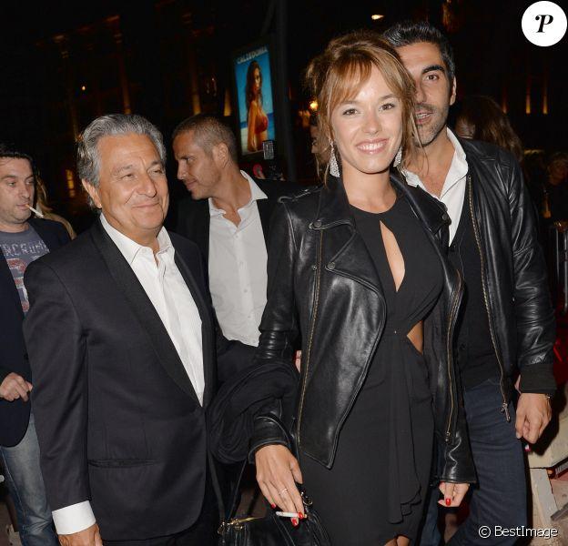 """Exclusif - Christian Clavier, Elodie Fontan et Ary Abittan - Soirée du film """"Qu'est-ce qu'on a fait au Bon Dieu?"""" sur la Croisette à Cannes, le 22 mai 2014."""