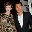 """Exclusif - Emilie Caen et Frédéric Chau - Soirée du film """"Qu'est-ce qu'on a fait au Bon Dieu?"""" sur la Croisette à Cannes, le 22 mai 2014."""