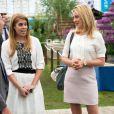 La princesse Beatrice d'York à l'inauguration du Chelsea Flower Show le 19 mai 2014