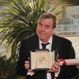 Timothy Spall (Prix d'interprétation masculine) - Photocall de la remise des prix du 67e Festival du film de Cannes le 24 mai 2014.