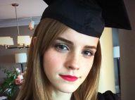 Emma Watson, fière diplômée : Radieuse pour son grand jour