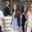 La princesse Alexandra de Hanovre le 25 mai 2014 lors du Grand Prix de F1 de Monaco