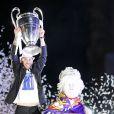 Sergio Ramos - Les joueurs du Real de Madrid célèbrent leur victoire à Madrid en Espagne le 25 mai 2014.