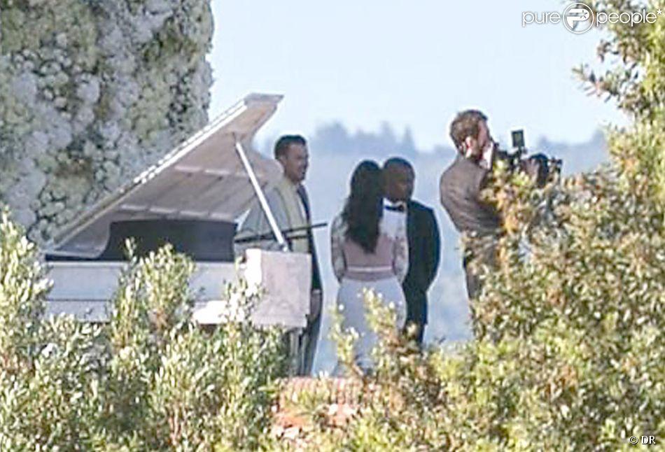 kim kardashian et kanye west mariage au cot mirobolant lune de miel soft - Cout Fleuriste Mariage