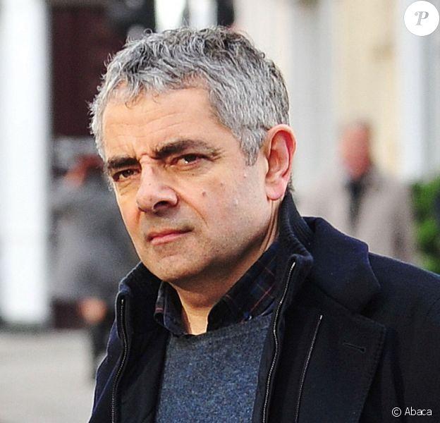 Rowan Atkinson à Londres le 25 janvier 2014.