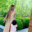 Beyoncé avec sa fille Blue Ivy. Photo révélée sur le site Beyonce.com en mai 2014.