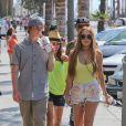 Lindsay Lohan et son frère Cody à Los Angeles, le 10 août 2012.