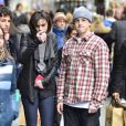 Cody et sa soeur Ali Lohan, le 4 mars 2012 à New York.