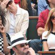 Inna Modja et Zahia Dehar au tournoi de Roland-Garros à Paris, le 1er juin 2014.
