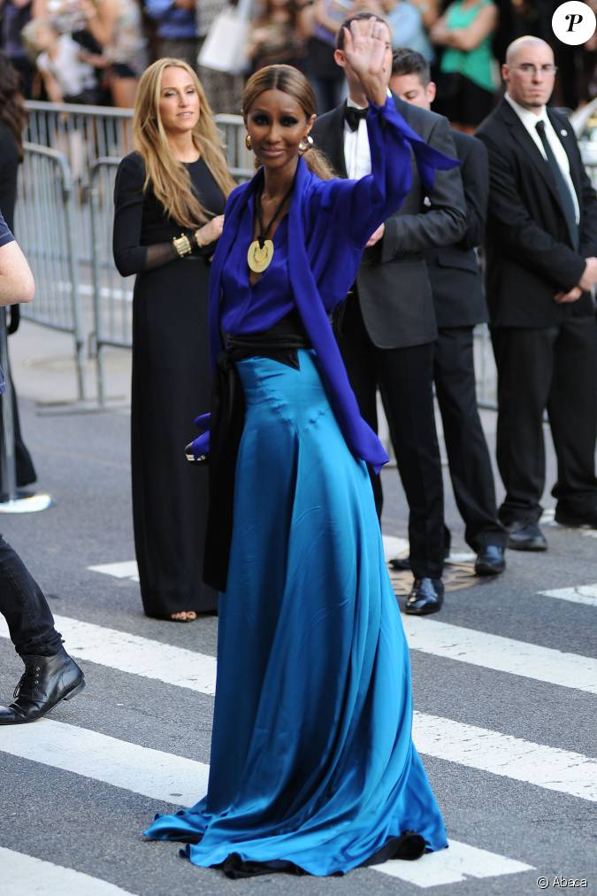iman bowie arrive 224 lalice tully hall au lincoln center