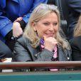Véronique Sanson à Roland-Garros à Paris, le 3 juin 2014.