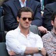 Gaspard Ulliel à Roland-Garros à Paris, le 3 juin 2014.